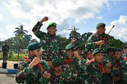 Arnold Ritiauw Bangga Lepas Satgas Pamrahwan Maluku Tahun 2020 Yonif RK 732/Banau