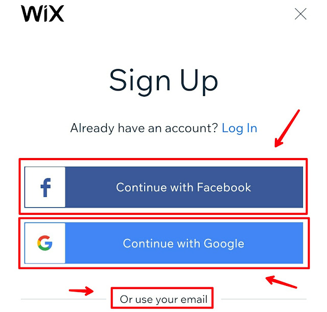 Perfect guide to make a wix Website