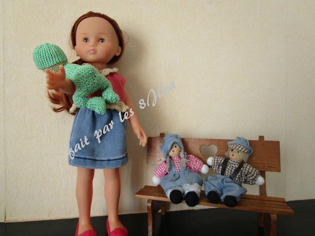 le crochet pour poupée corolle
