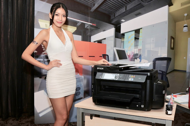 Espon 今天在台灣推出了新一代的連續供墨多功能複合機
