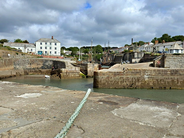 Harbour at Charlestown, Cornwall