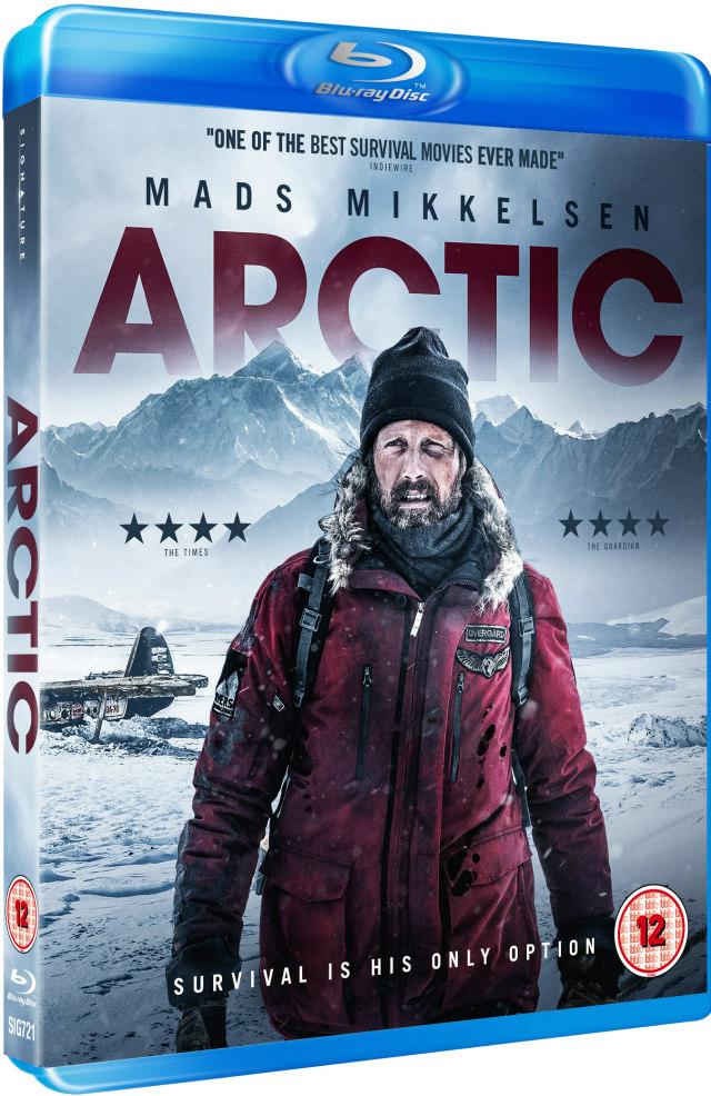 arctic mads mikkelsen bluray