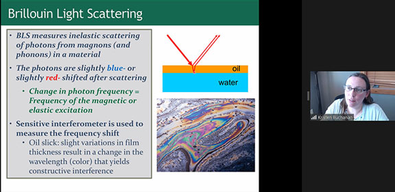 Brillouin Light Scattering (Source: Kristen Buchanan, CSU, at CSULB Physics Colloquium)
