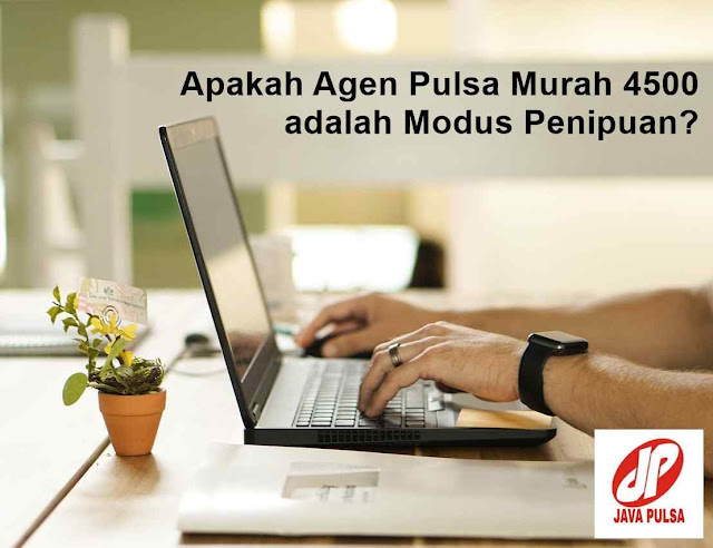 Java Pulsa : Agen Pulsa Murah 4500