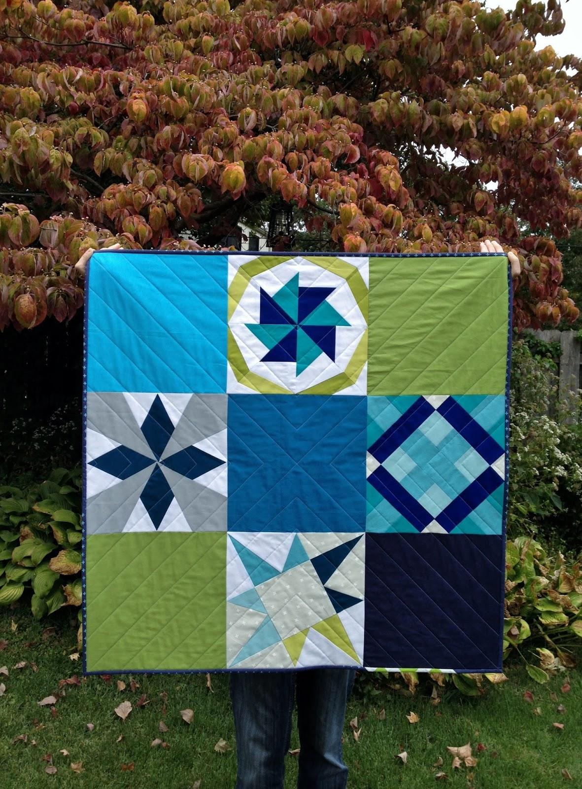 http://ablueskykindoflife.blogspot.com/2015/10/vqr-mini-sampler-quilt-finish.html