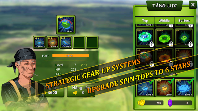 Spin Top Fighter APK MOD Unlimited Money
