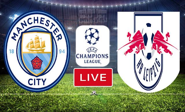 Match En Direct : Manchester City vs Rb Leipzig en UEFA Ligue des Champions