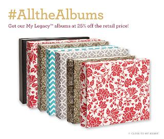 CTMH Photo Albums Sale