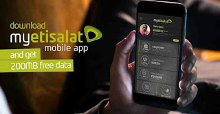 Download My Etisalat Mobile App and Get 200MB Free Of Data