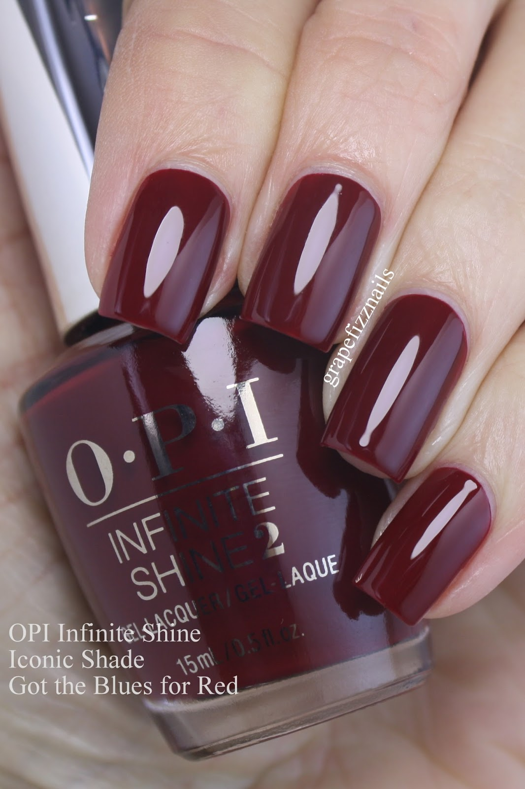 Grape Fizz Nails: OPI Infinite Shine Primer and Gloss and 30 Iconic ...