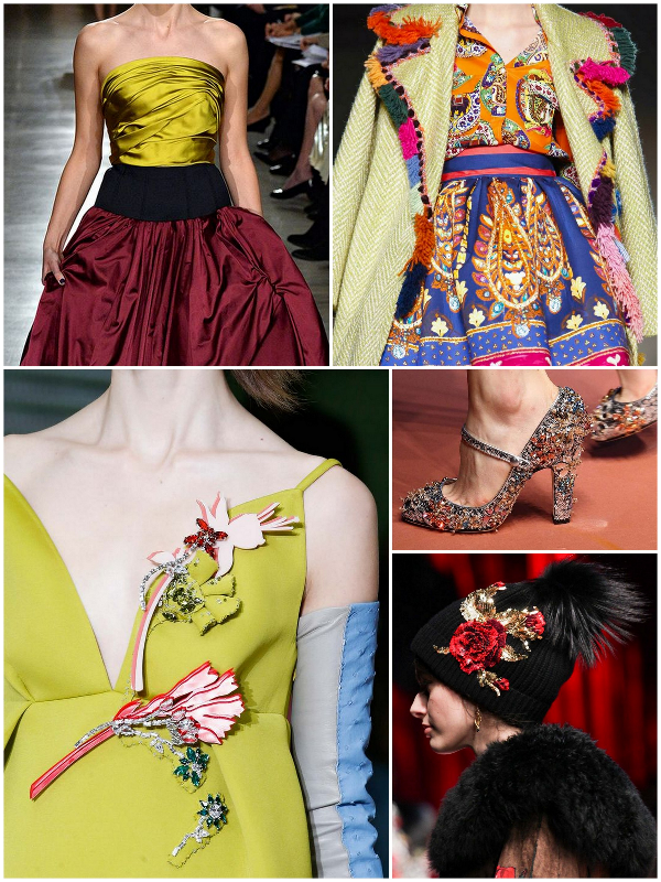 2015 runway trend fashion week fw f/w fall details