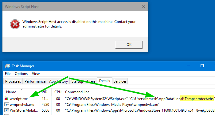 How To Stop Windows Script Host Access Error On Your