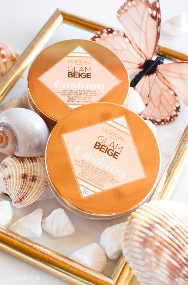 Neu die L'Oréal Glam Beige Healthy Glow Cushion Foundation