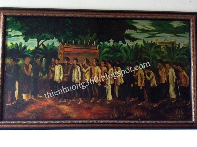 Lễ an táng Cụ Phó bảng Nguyễn Sinh Sắc