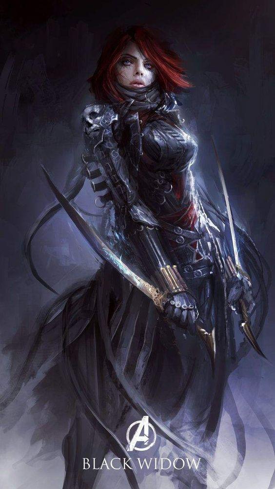 Viúva Negra, por Yong Min Yong