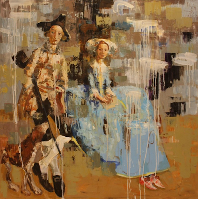 Mr. and Mrs. (After Gainsborough) (2012), Rimi Yang