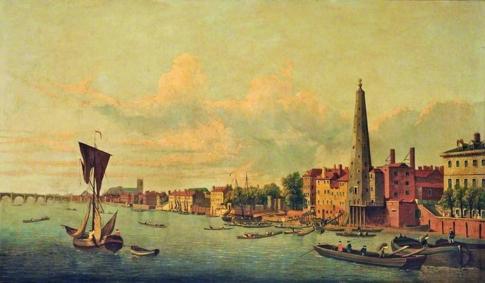 London Bridge Samuel Scott