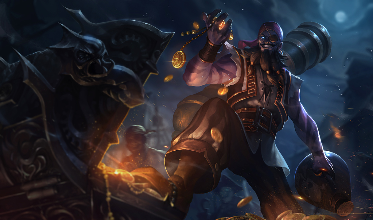 Any Easter Eggs In The New Ryze Splash Arts