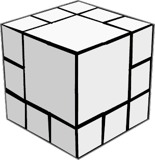 Division of 1 Cube into 20 cubes