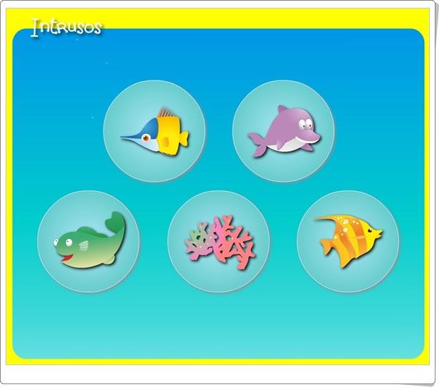 Intrusos (Lógica y conceptos básicos en Educación Infantil)
