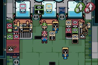 El Pequeño Rincón de los Grandes RPG - Mario & Luigi Superstar Saga - Museo del bloque