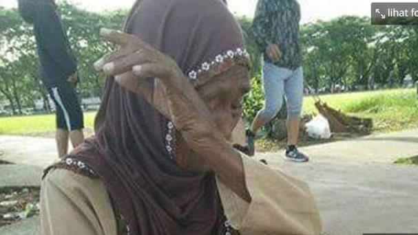 Masha Allah, Ibu Renta Ini Memilih Menahan Lapar Dibanding Memakan Uang Dagangan yang Bukan Miliknya