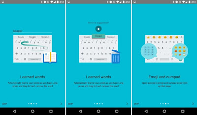 Google Keyboard v5.1.21 APk to Download With Android N Dev Preview 4 Features