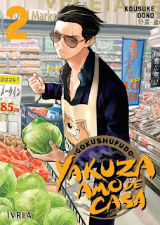 Reseña de Gokushufudo, Yakuza Amo de Casa vols. 2 y 3, de Kousuke Oono - Ivréa.