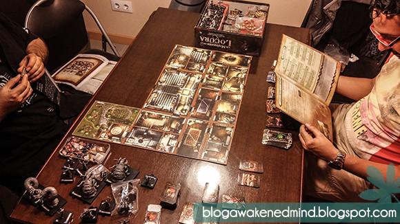 las mansiones de la locura, h.p. lovecraft, edge, juego de tablero