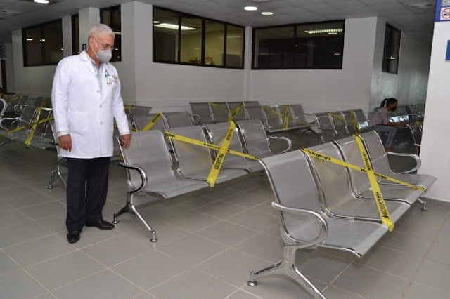 Hospital Vinicio Calventi refuerza medidas sanitarias en áreas por COVID-19