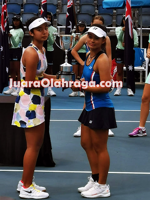 Australian Open 2020: Priska Madelyn Nugroho Juara !