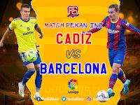 Prediksi Barcelona Vs Cadiz 21 Februari 2021