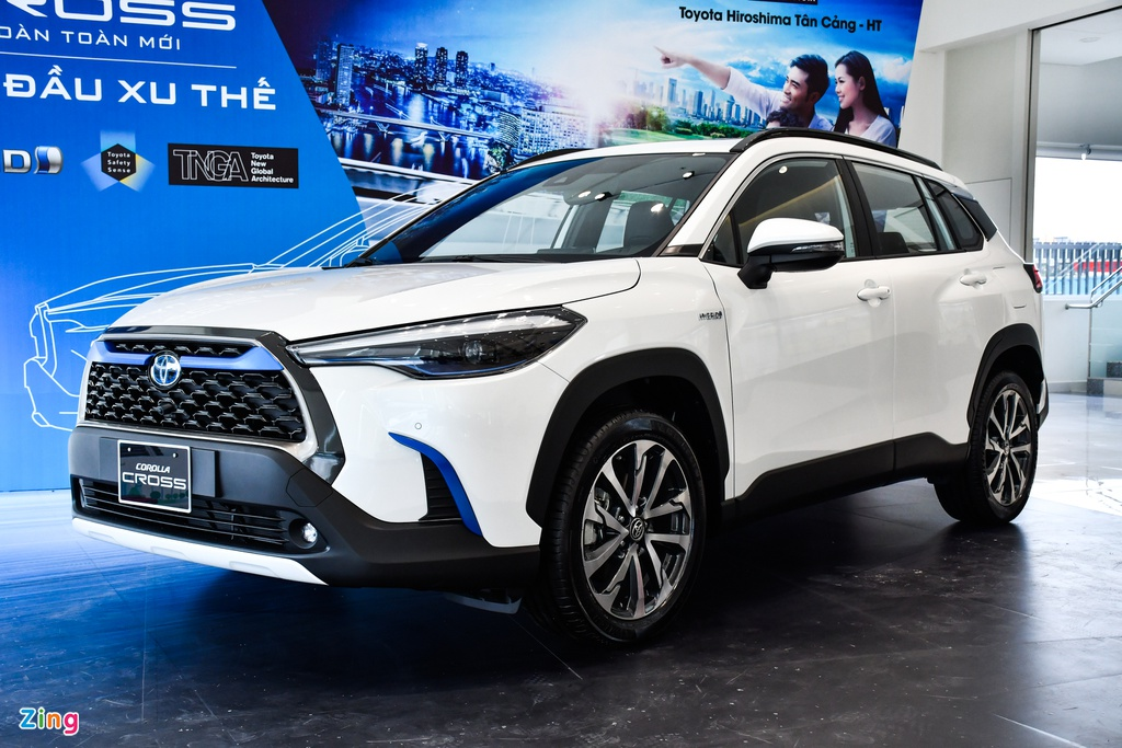 Chi tiết Toyota Corolla Cross 1.8HV - xe hybrid giá dưới 1 tỷ đồng