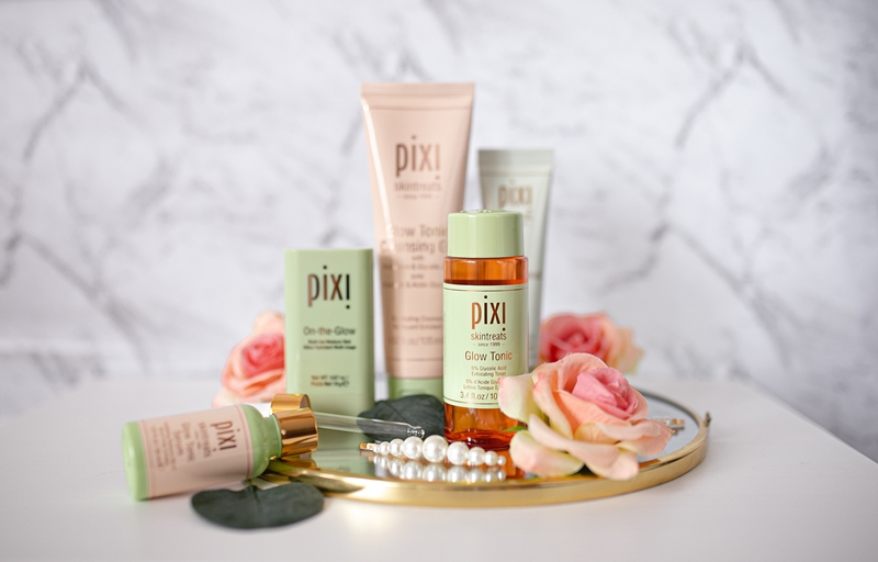 recenzja na temat kosmetykó pixi beauty