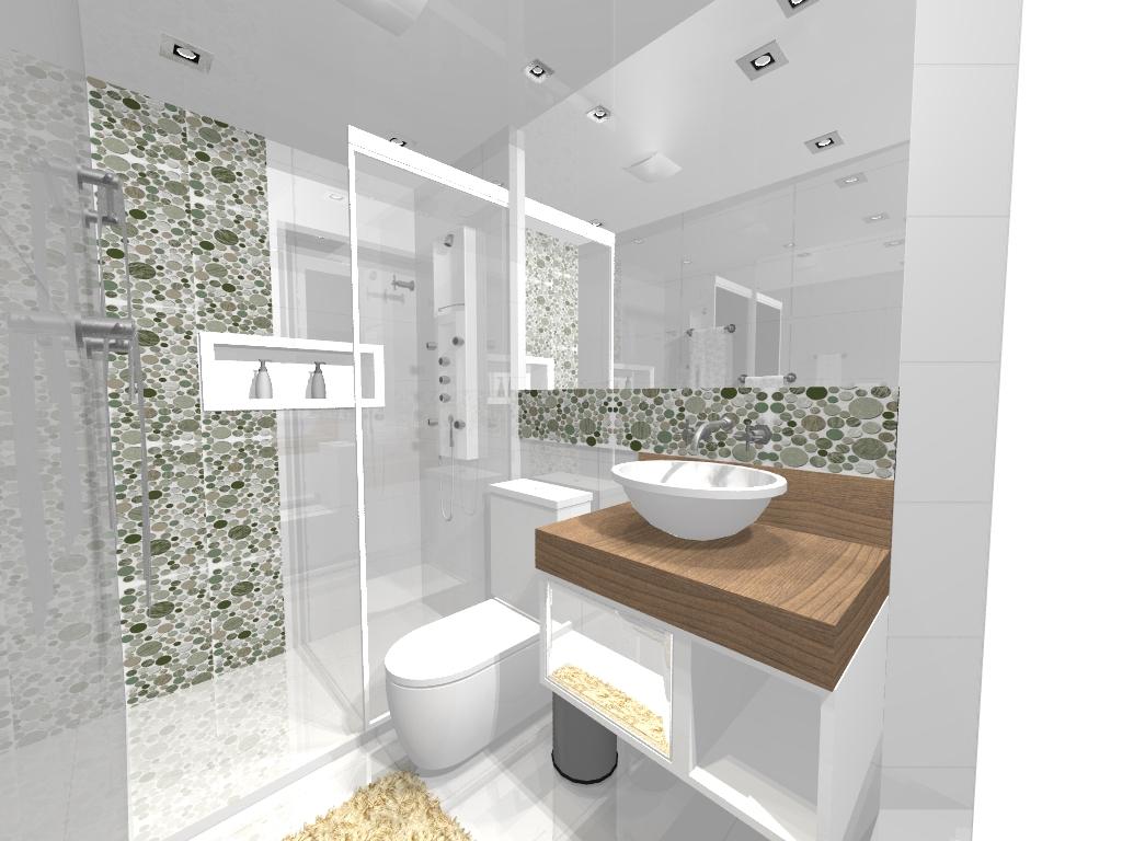Studio Redecorando Projetos a partir de R$350,00  Fale conosco  Banheiro so -> Banheiro Decorado Social