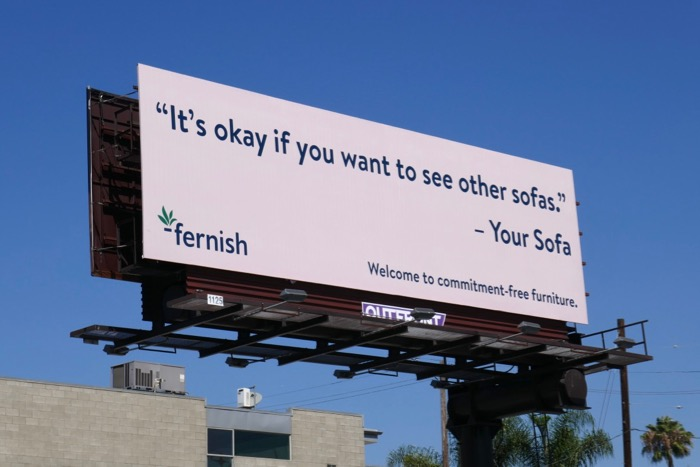 ok if you want to see other sofas Fernish billboard