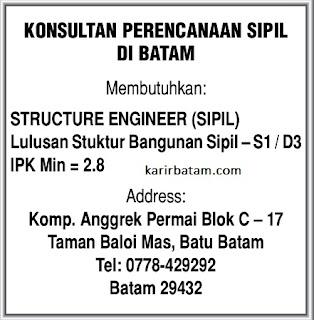 Lowongan Kerja Structure Engineer