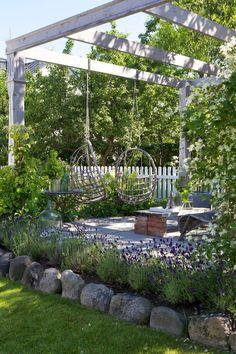 pergola puutarhaan