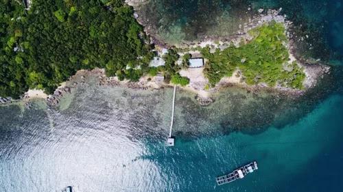 Hon Dam Trong Island