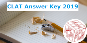 CLAT Answer Key 2019 alongwith Question Paper: Download Now!