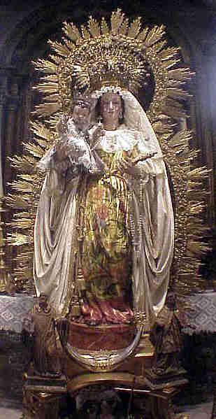 Horario e Itinerario Procesión de Nuestra Señora del Rosario de Santa Catalina. Sevilla 01 de Noviembre del 2019