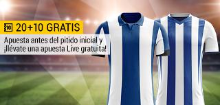 bwin promocion 10 euros Deportivo vs Real Sociedad 10-9