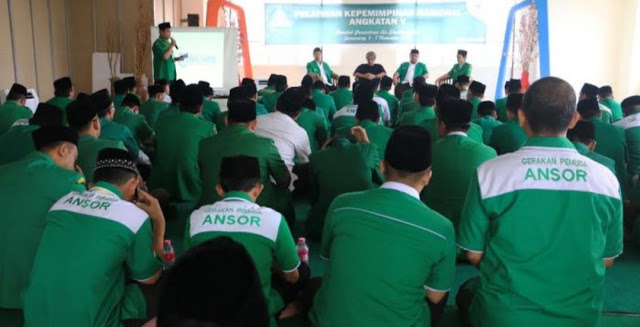 GP Ansor Gembleng Ratusan Kader Terbaik di Ponpes KH Maruf Amin