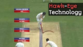 Hawk eye kya hai, hawk eye technology in cricket in hindi