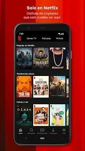 Descargar Netflix para Android y IOS