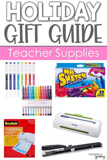 Teacher gift ideas supplies for the teacher