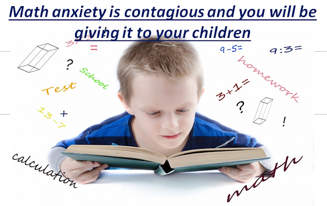 Math Anxiety is Contagious