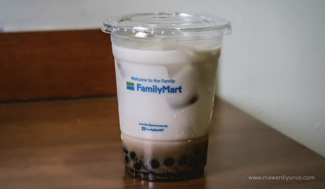 FamilyMart Brown Sugar Bubble Milk