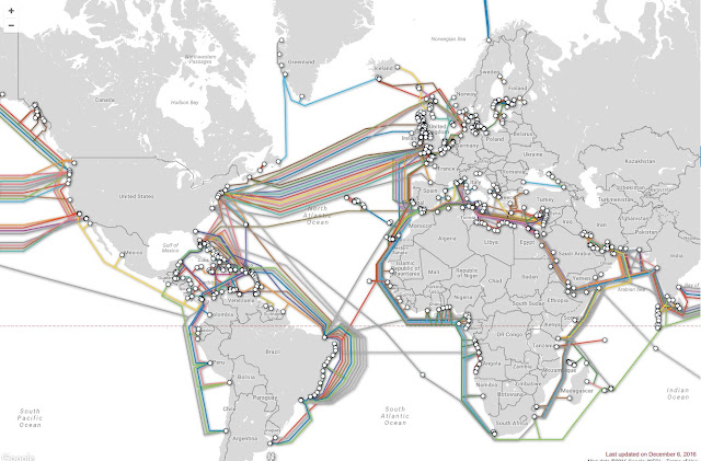 The Submarine Cable Map