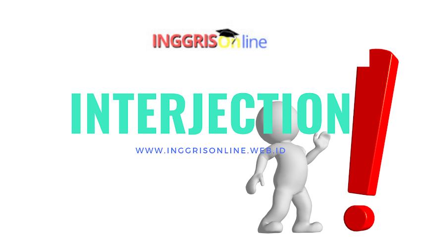 Apa yang dimaksud Interjection ?